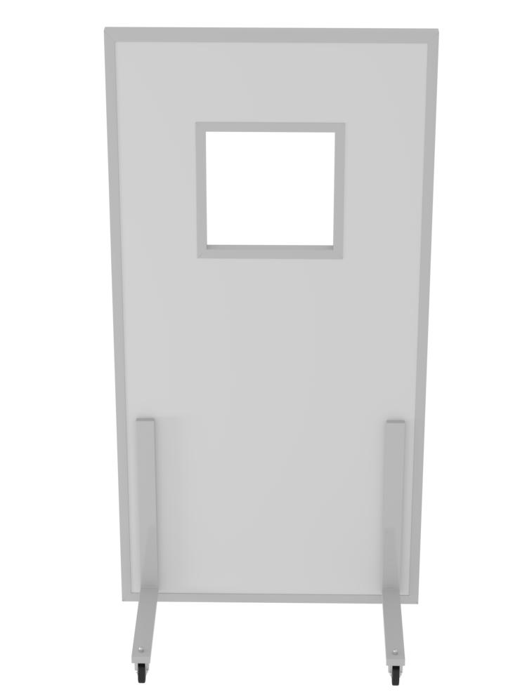 Ширма рентгенозащитная большая с окномРЕНЕКС ШРЗо
