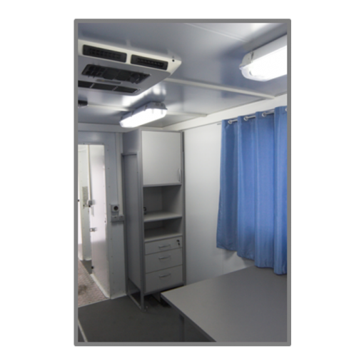 Передвижной флюорографический кабинет «РЕНЕКС»