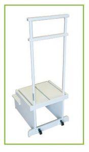 Двухступенчатая платформа для позиционирования пациента