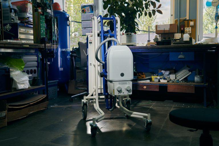 С.П.Гелпик выпустил юбилейный 1000 палатный рентгеновский аппарат